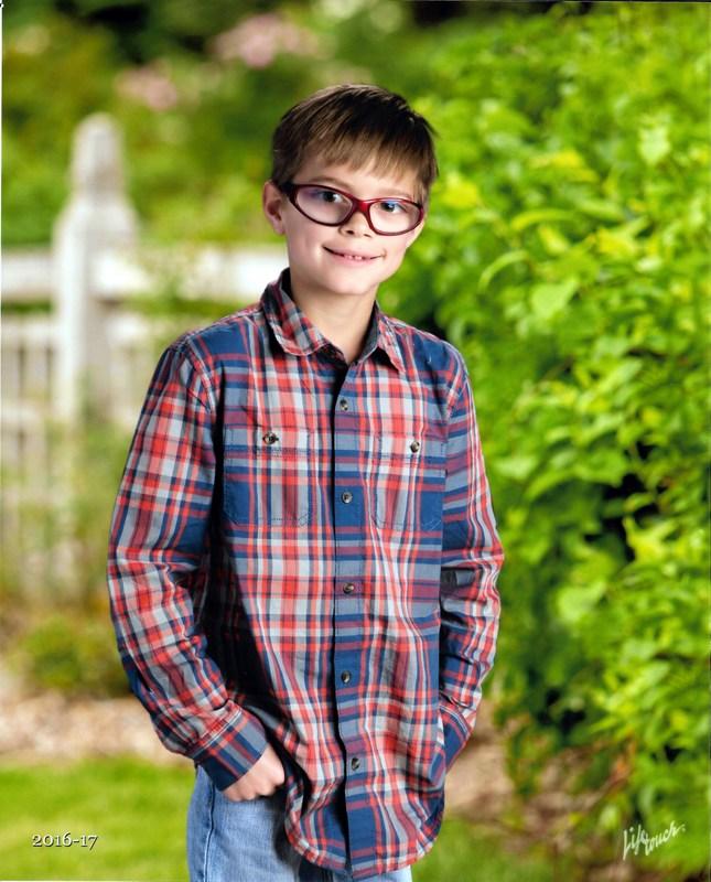 Josh 2nd grade picture